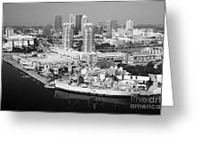 Channel District Tampa Florida Greeting Card