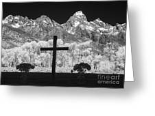 Chapel View Greeting Card