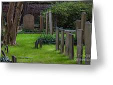 Charleston Graveyard Greeting Card