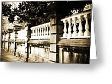 Charleston Scenes-0098 Greeting Card
