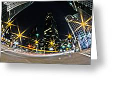 Charlotte Nc Usa - Nightlife Around Charlotte Greeting Card