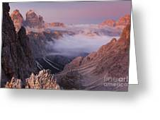 Charming Dolomites Greeting Card
