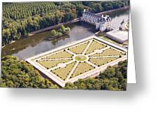 Chateau De Chenonceau And Its Gardens Greeting Card