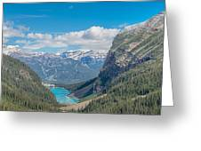 Chateau Lake Louise - Banff National Park - Canada Greeting Card