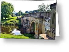 Chatsworth Bridge Greeting Card