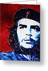 Che Greeting Card by Chris Mackie