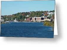 Chelsea Harbor In Fall Greeting Card