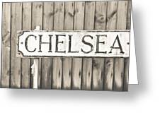 Chelsea Greeting Card