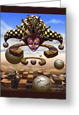 The Chess Master Greeting Card