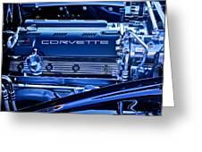 Chevrolet Corvette Engine Greeting Card