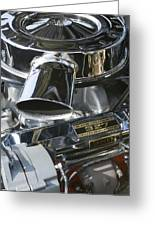 Chevrolet Engine Greeting Card
