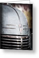 Chevrolet Hood Emblem - Grille Emblem Greeting Card