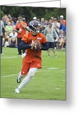 Chicago Bears Qb David Foles Training Camp 2014 05 Greeting Card