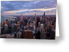 Chicago Il. Skyline, May 2009 Greeting Card