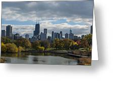 Chicago Lincoln Park Greeting Card