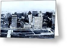 Chicago Panorama 1915 Greeting Card