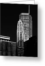 Chicago - Trump International Hotel And Tower Greeting Card