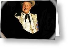 Chill Wills Old Tucson Arizona 1971-2008 Greeting Card
