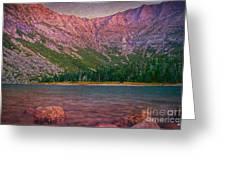 Chimney Pond Greeting Card