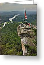Chimney Rock Overlook Greeting Card
