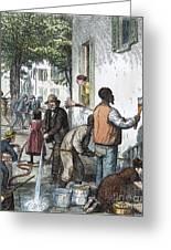 Cholera Epidemic, 1873 Greeting Card