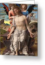 Christ As The Suffering Redeemer  Greeting Card