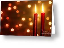 Christmas Ambiance Greeting Card