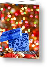 Christmas Box Greeting Card