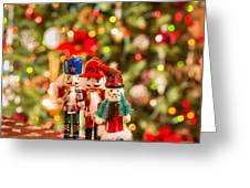 Christmas Figures Greeting Card