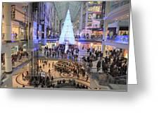 Christmas Shopping In Toronto Greeting Card
