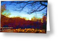 1 Chronicles 29 15 Greeting Card