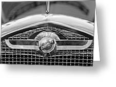 Chrysler Grille Emblem Greeting Card
