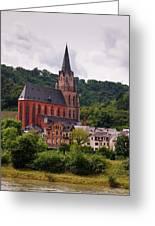 Church Of Our Lady  Oberwesel Am Rhein Greeting Card