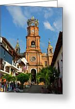 Church Of Our Lady Of Guadalupe (la Greeting Card