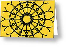 Circle 2 Icon Greeting Card