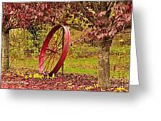 Circle Of Life Greeting Card