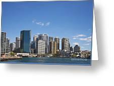 Circular Quay In Central Sydney Australia Greeting Card