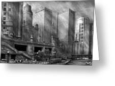 City - Chicago Il - Continuing A Legacy Greeting Card