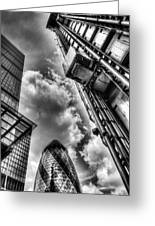 City Of London Iconic Buildings Greeting Card