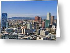 City Of Los Angeles Greeting Card