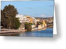 City Of Seville In Spain Greeting Card