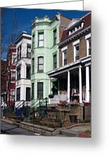 Classic American Architecture In Washington Dc Greeting Card