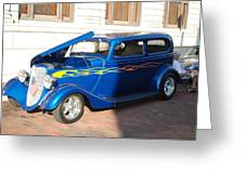 Classic Custom Car Greeting Card