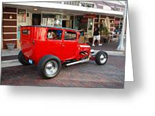 Classic Custom Hotrod Greeting Card