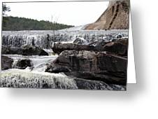 Clayton Lake Spillway Greeting Card