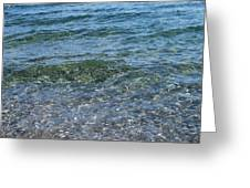 Clear Waters 3 Greeting Card