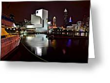 Cleveland Lakefront Greeting Card