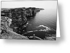 Cliffs Of Moher County Clare Ireland Greeting Card