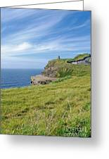 Cliffs Of Moher In Ireland Greeting Card