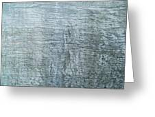 Close-up Of A Metal Wall Surface Greeting Card